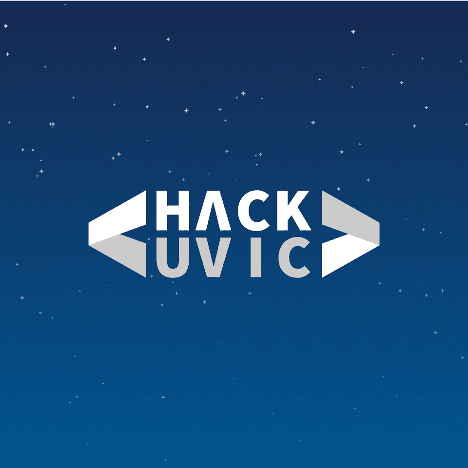 The HackUVic Logo